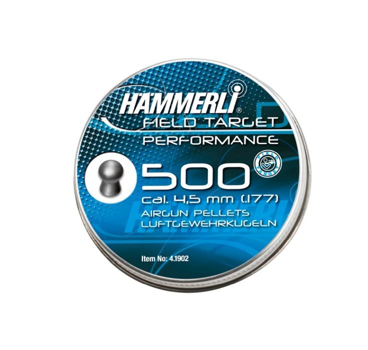 HÄMMERLI Field Target Performance 4,5mm 500 pack
