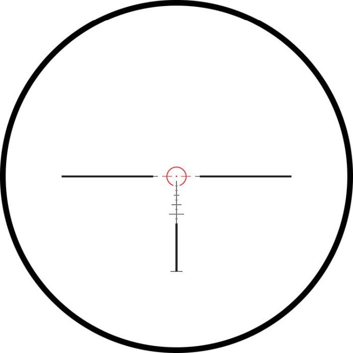 Hawke Frontier 30 1-6x24 SFP Belyst Tactical Dot