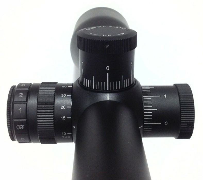 Hawke Vantage 30 WA SF 6-24x50 SFP Belyst Half Mil Dot