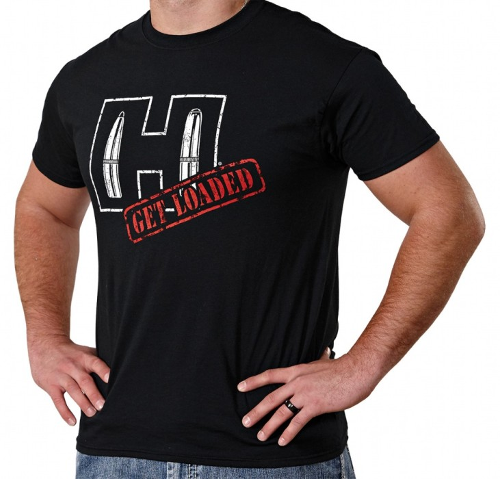 Hornady Black Get Loaded T-Shirt