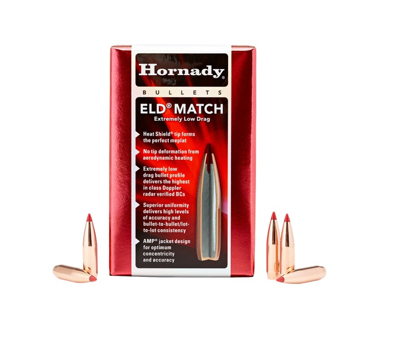 Hornady Kula ELD Match 6,5mm 130gr