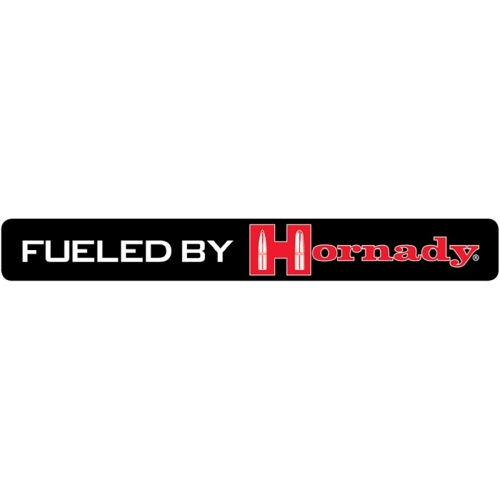 Fueled By Hornady Klistermärken