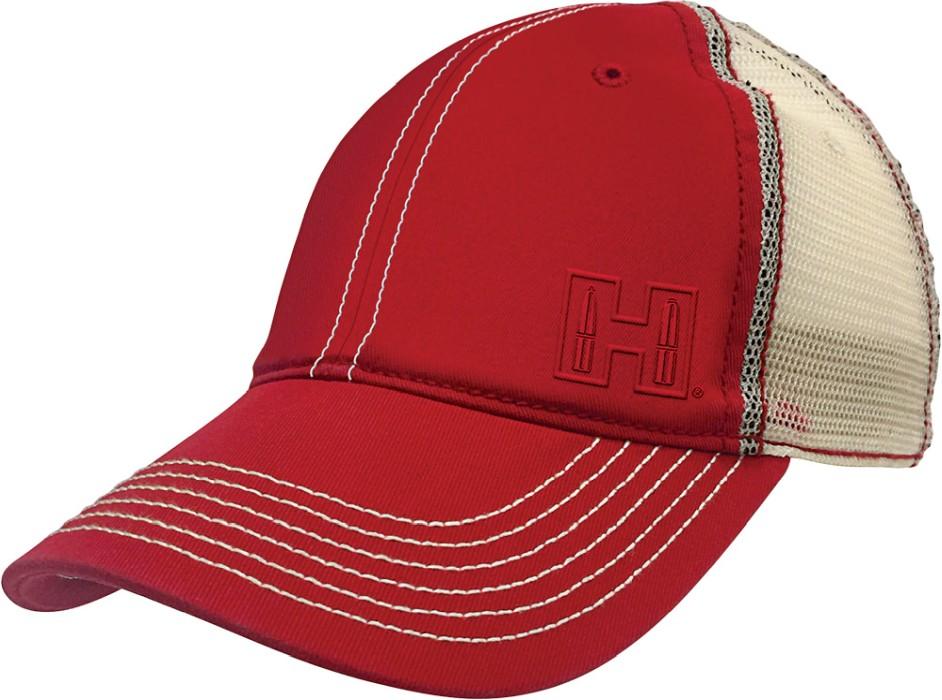 Hornady Red & White Mesh keps