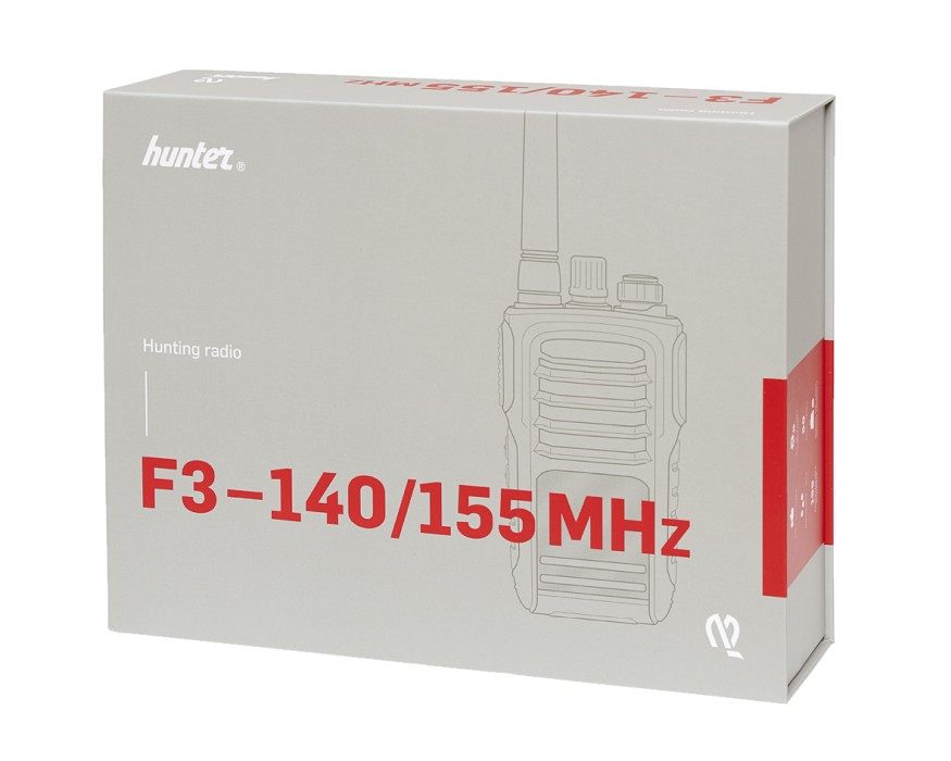 Hunter F3 155 MHz