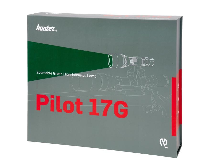Hunter Pilot 17G Eftersökslampa