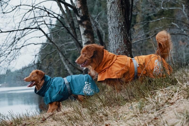 Hurtta Monsoon Coat Regntäcke Havtorn