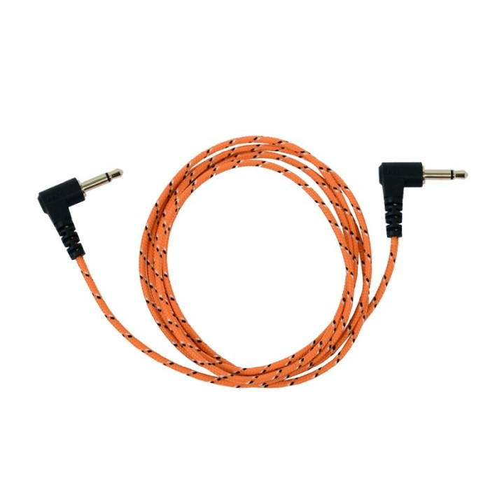 Icom ProEquip Orange Peltorkabel, 3,5mm-3,5mm