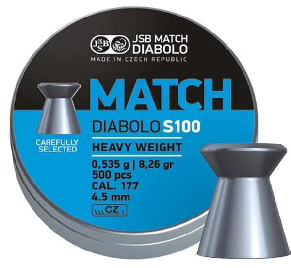 JSB Blue Match Diabolo S100 4,5mm