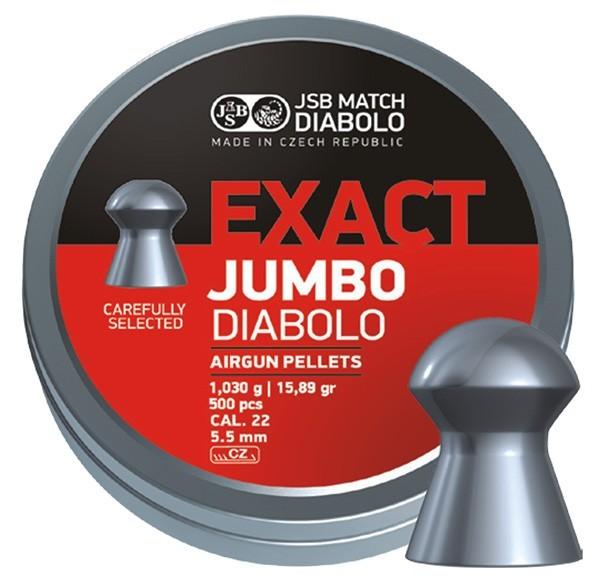 JSB Exact Jumbo 5,5mm 500-pack