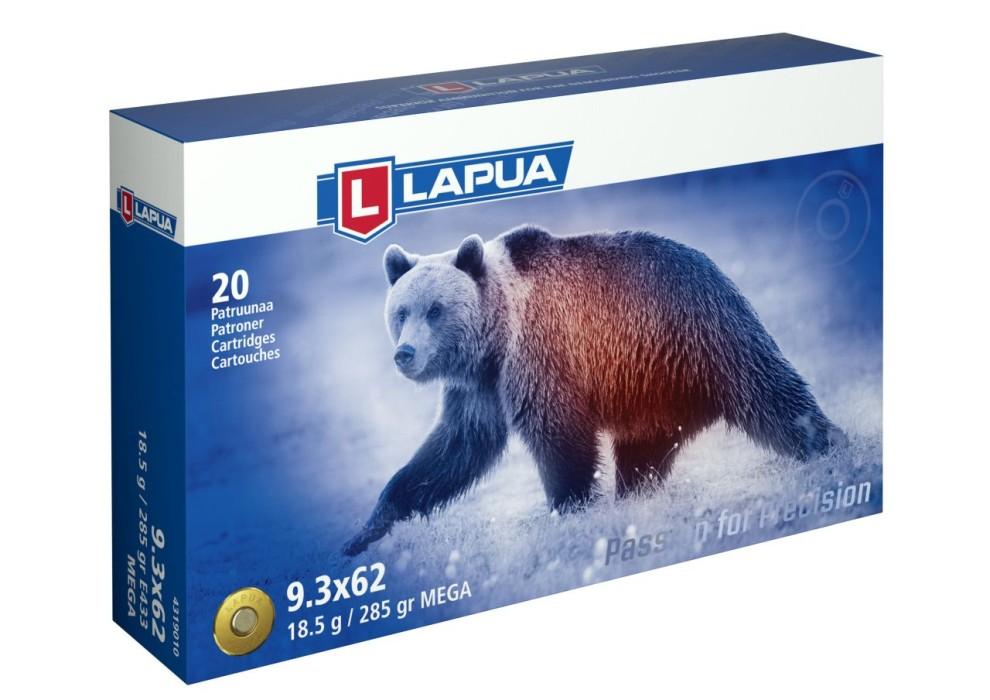 Lapua 9,3x62 Mega 18,5g