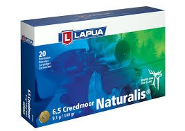 Lapua 6,5 Creedmoor Naturalis 9,1g
