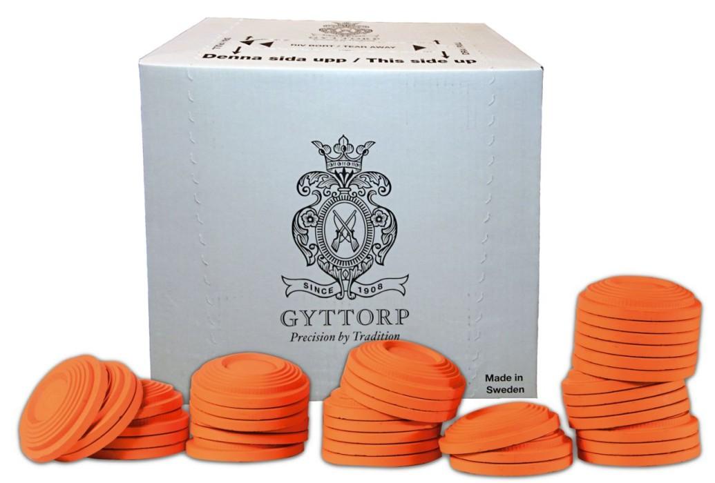 Lerduvor Gyttorp Orange 150st