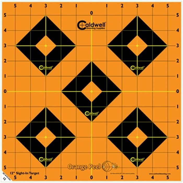 Måltavla Orange Peel Sight-In Target