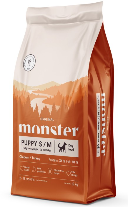 Monster Original Puppy S/M 12kg