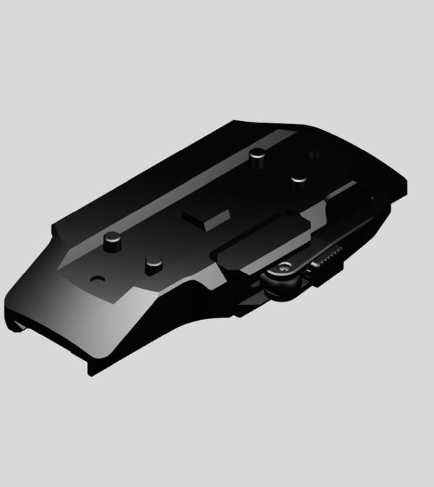 Montage Aimpoint Micro QD fäste Tikka T3/T3x