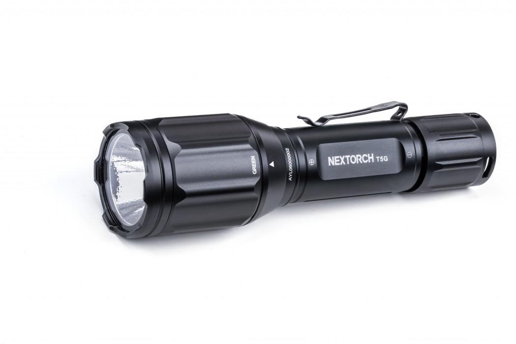 Nextorch Eftersökskit T5G V2.0 vit/grön LED