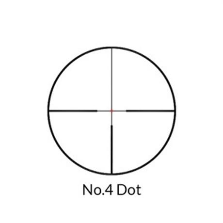 Nikko Stirling Metor 2,5-10x50 Belyst Dot