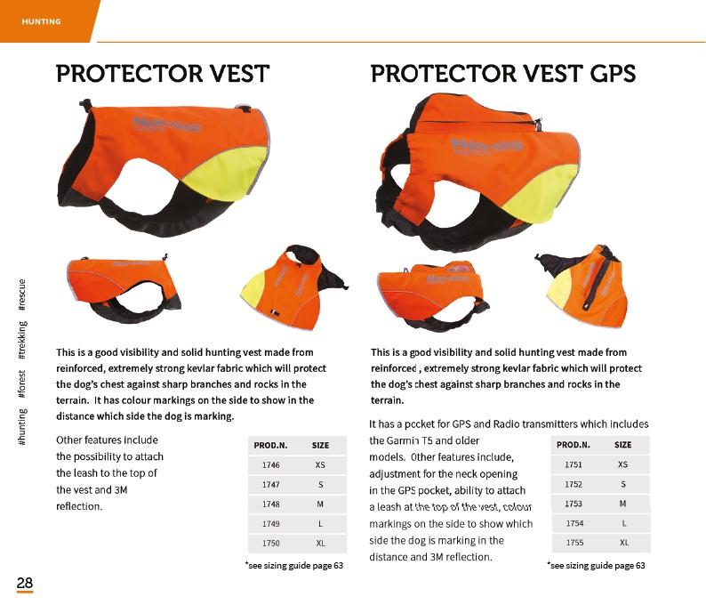 Non-Stop Jaktväst med GPS ficka