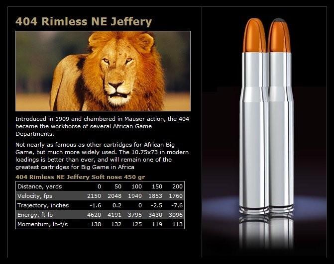 Norma 404 Jeffrey 450 gr Softn. Woodleigh