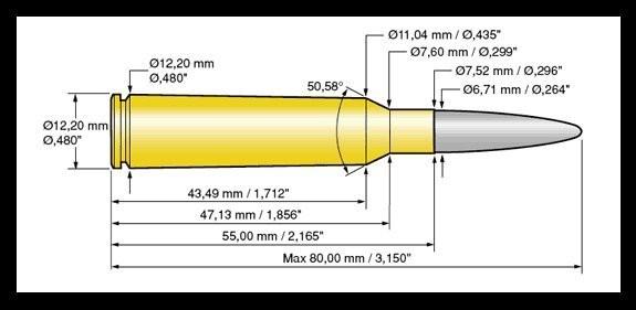 Norma 6,5x55 Vulkan 10,1g