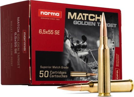 Norma 6,5 Creedmoor Match Golden Target
