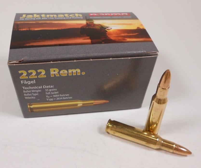 Norma 222 Rem Jaktmatch