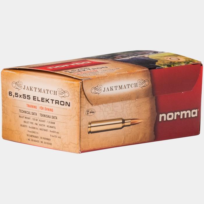 Norma 6,5x55 Jaktmatch Electron