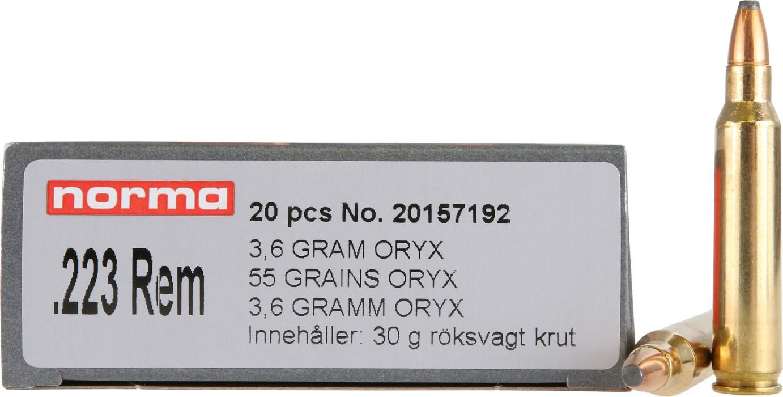 Norma 223Rem Oryx