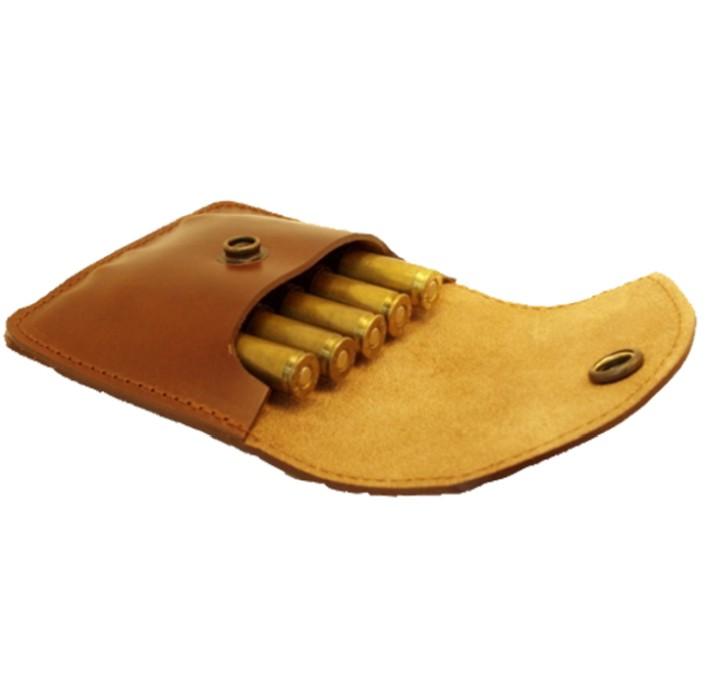 Edvardsons Patronhållare av läder med lock