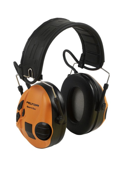 3M Peltor SportTac hörselskydd Grön/Orange