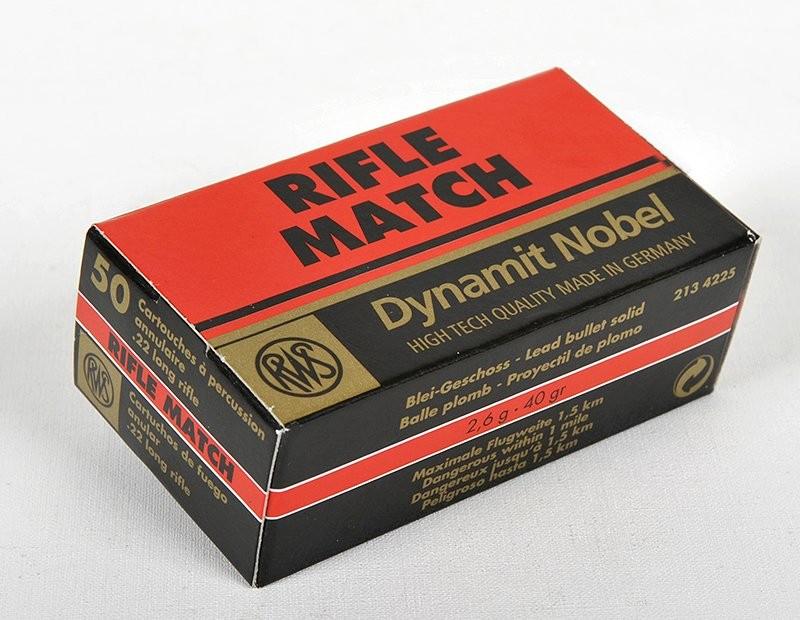 RWS 22LR Rifle Match