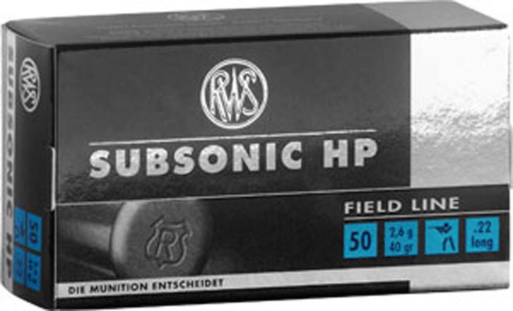 RWS 22LR Subsonic HP