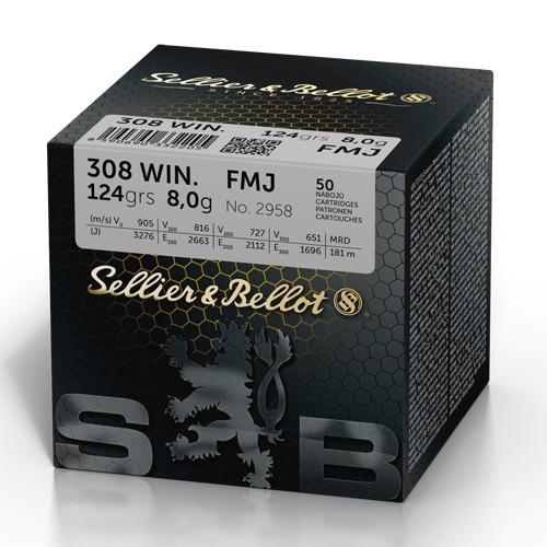 Sellier&Bellot 308Win FMJ 124gr