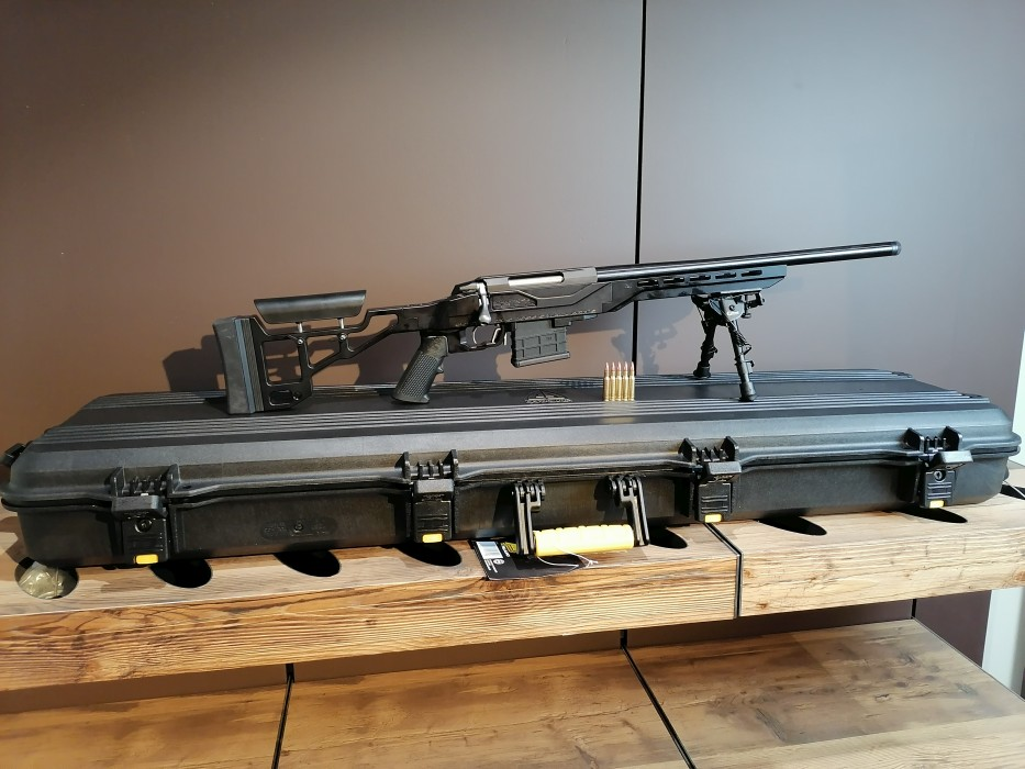Tikka T3X 222 Rem + SCSA TSP X Kolv Kulgevär