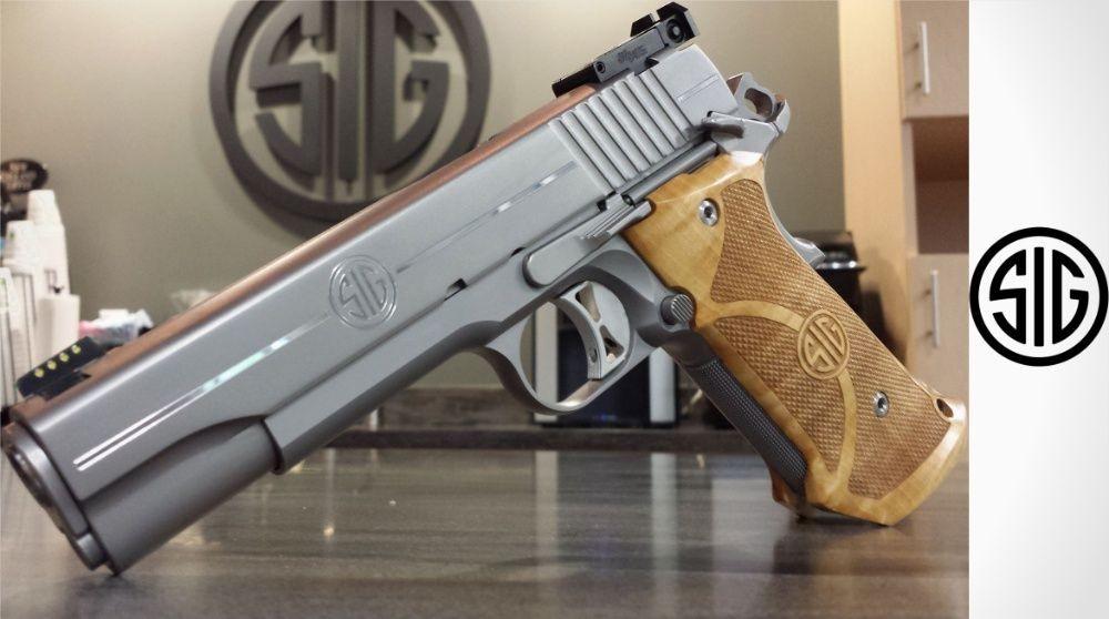Sig Sauer 1911 Stainless Supertarget .45 ACP Pistol