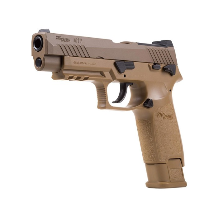 Sig Sauer P320-M17 ASP Coyote Tan 4,5mm Luftpistol