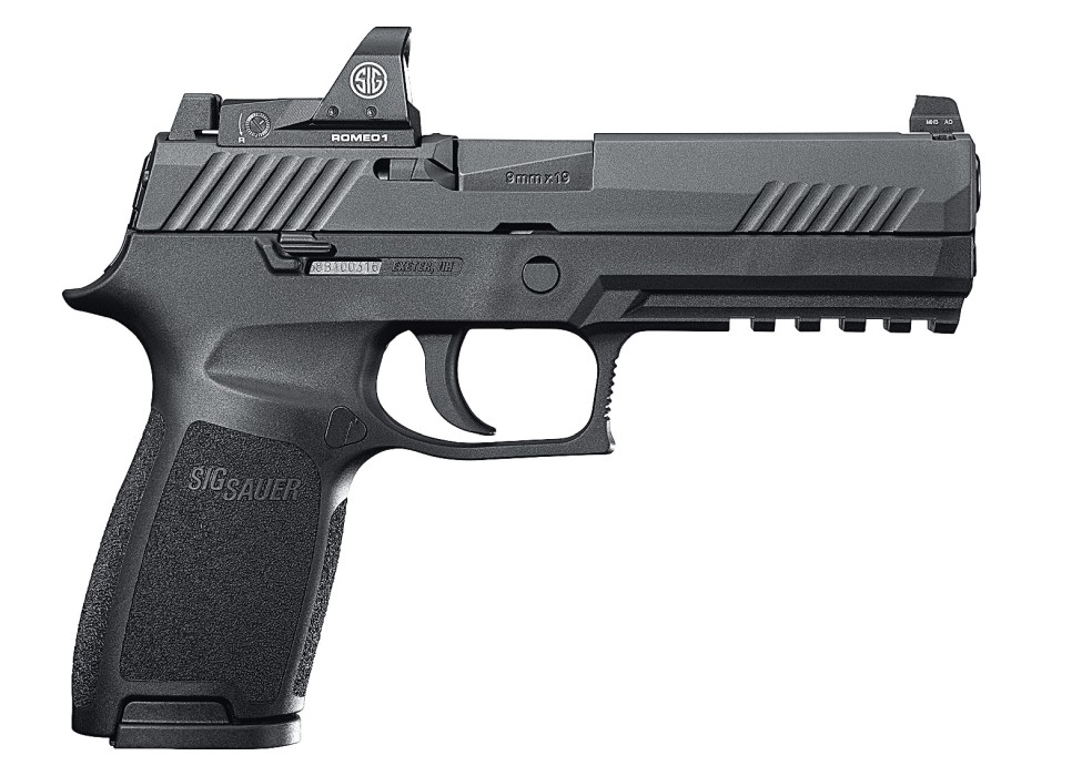 Sig Sauer P320 RX Fullsize ROMEO1 9x19