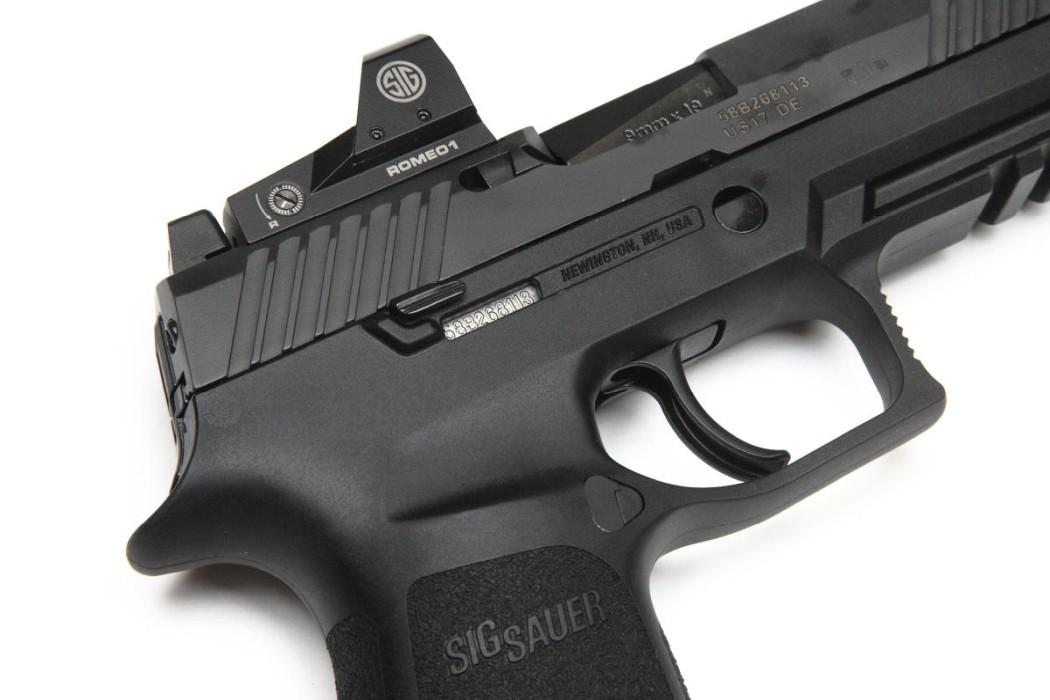 Sig Sauer P320 RX  Romeo 1 9x19 Pistol
