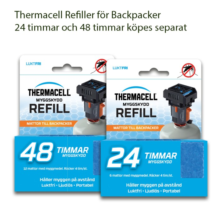 Thermacell Backpacker Myggskydd