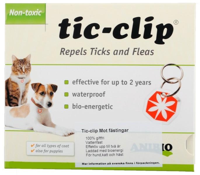 Tic Clip Fästingmedaljong