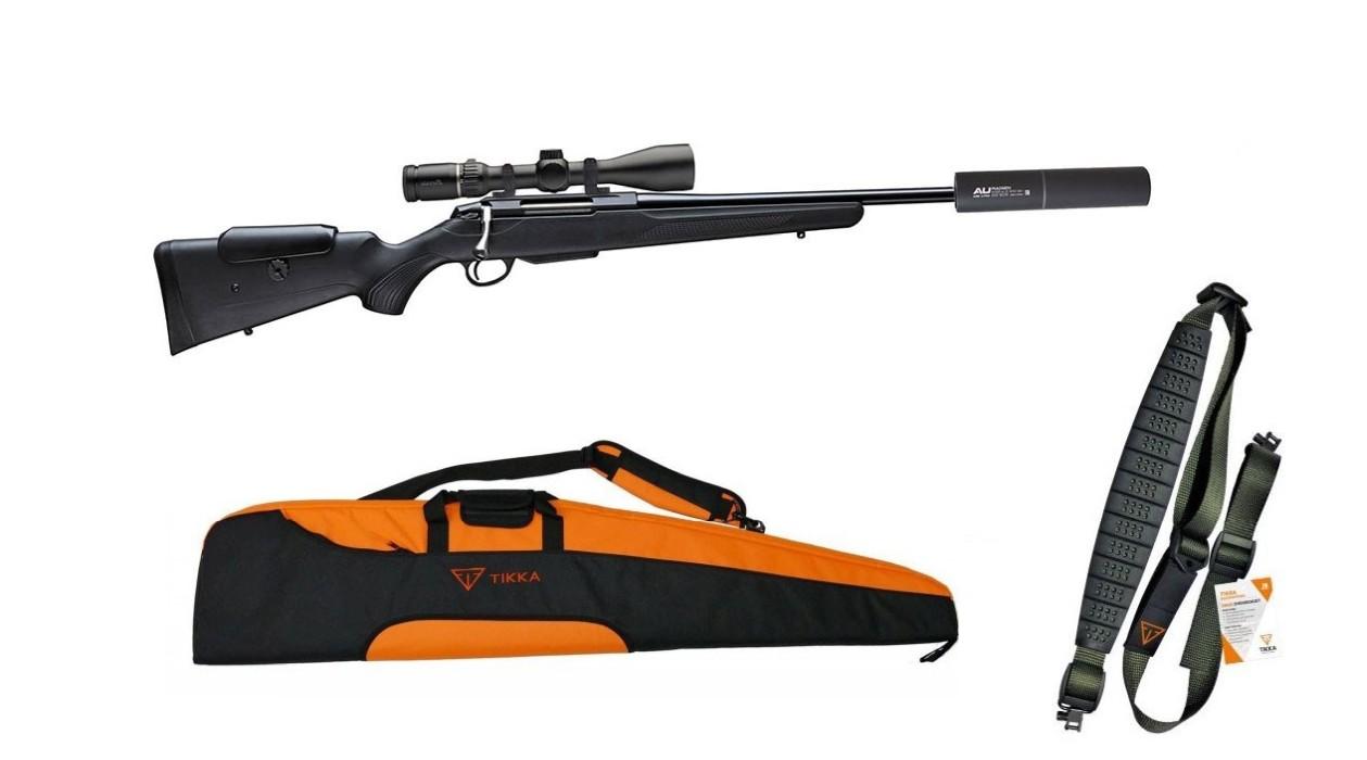 Tikka T3x Adjustable - Black Edition Paket