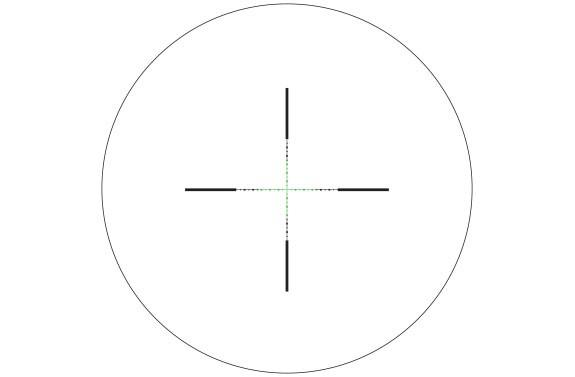 Trijicon AccuPower 2,5-10x56 Green LED MIL-SQ Crosshair