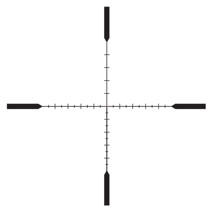 Trijicon Tenmile 4-24x50 Mrad SFP