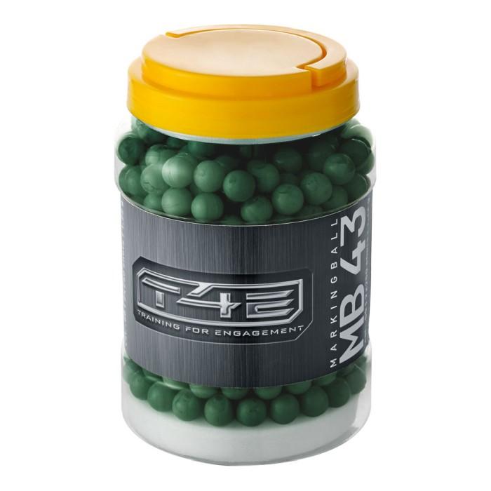 Umarex Markerande Plastkulor, grön .43 Till T4E 500-Pack
