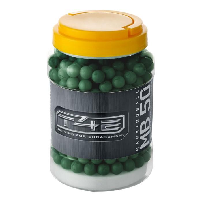 Umarex Markerande Plastkulor, grön .50 Till T4E 500-Pack