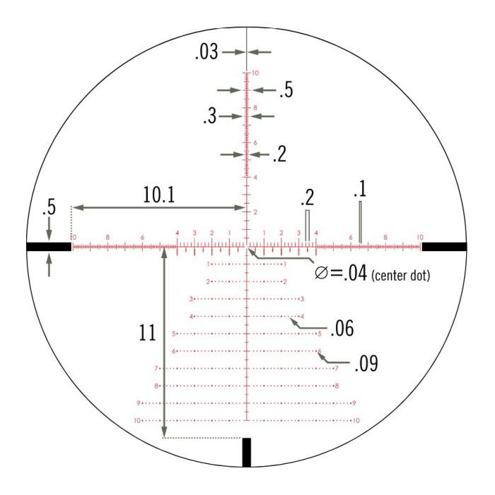 Vortex Viper PST Gen II 5-25x50 EBR-7C MRAD FFP